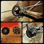 Dolne kółko przerzutki rowerowej