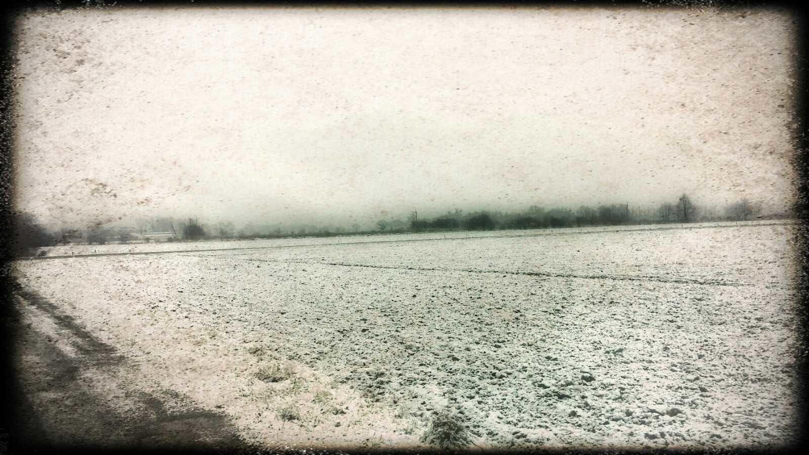 Snieg i rower
