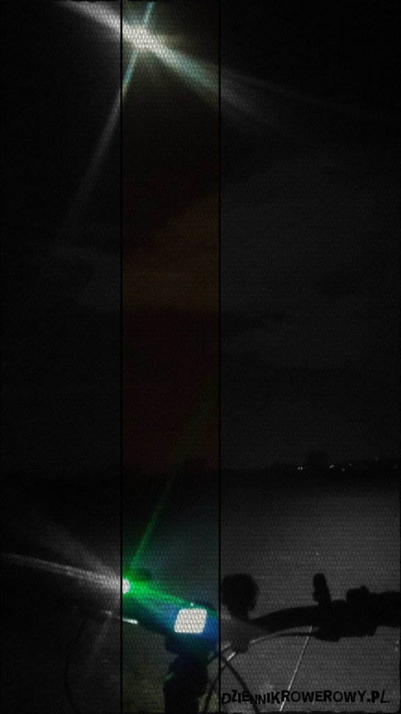 Ciemna noc rowerowa